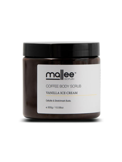 Vanilla Ice Cream Coffee Body Scrub-Mallee Scrub-All Australian Made-Remarkable Humans