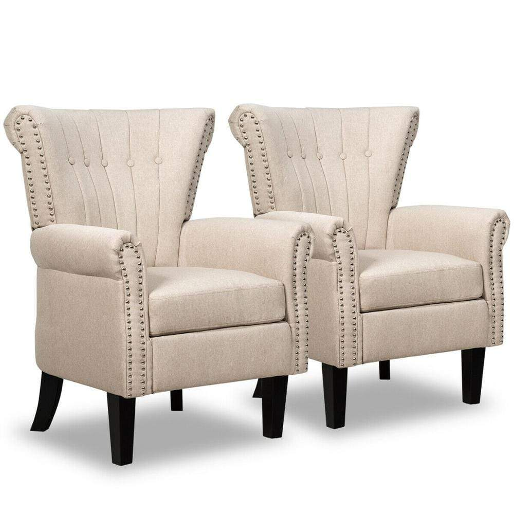 Accent Chair Upholstered - Set of 2