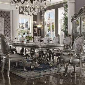 Antique Platinum Dining Table