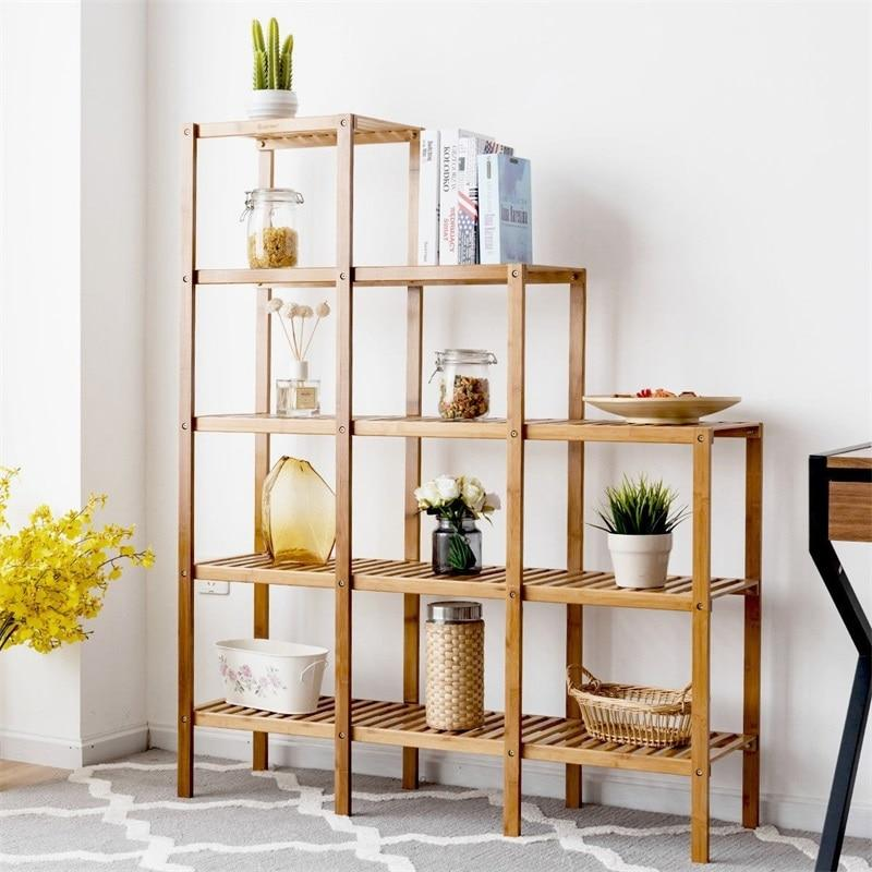 Bamboo Shelf Display