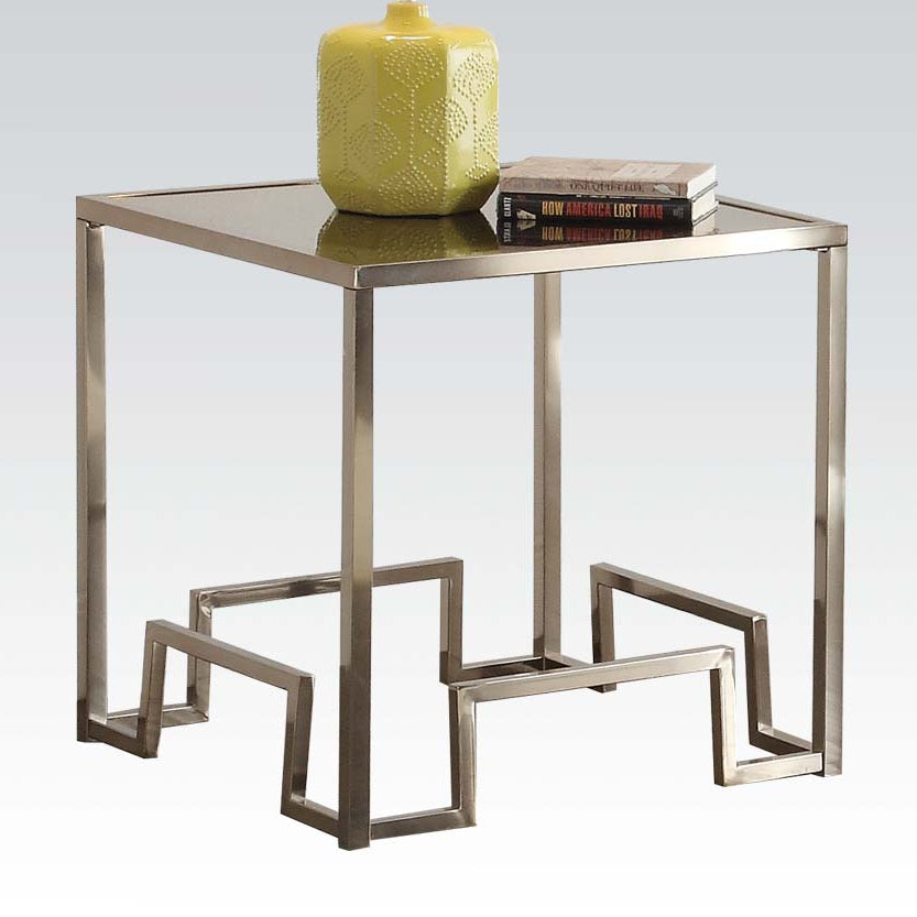 Champagne Glass End Table