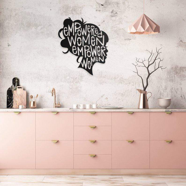 Empowered Woman - Metal Wall Art