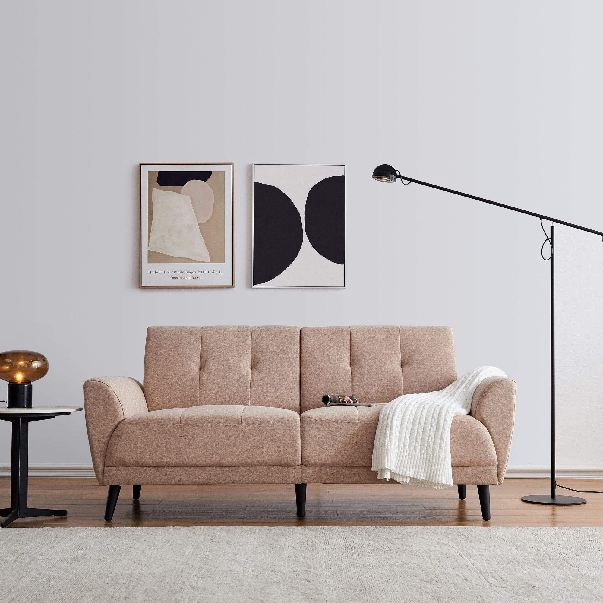Mid Century Modern Loveseat | 2 seat sofa | Classic Sofa | loveseat couch | loveseat sofa | convertible sofa | sectional sofa | living room furniture | compact sofa | sofa furniture | sofa  furniture