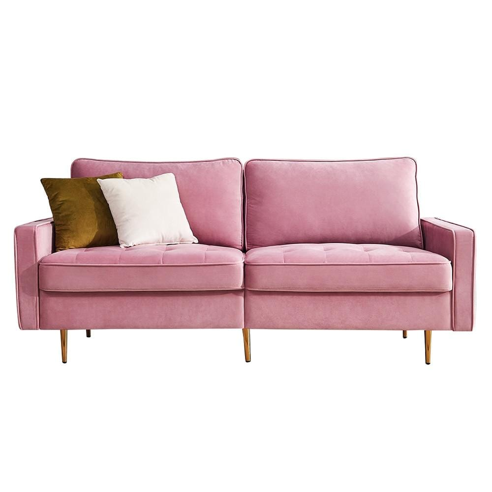 Modern Velvet Sectional Sofa | sectional sofa | loveseat couch | 2 seat sofa | modern Sofa | couch | convertible sofa | living room furniture | sofa | furniture
