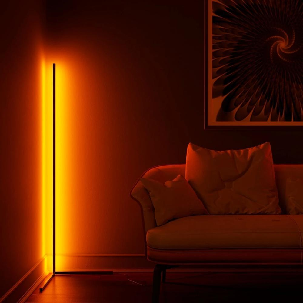 Nordic RGB Colorful Floor Lamp