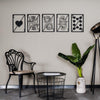 Royal Flush - Metal Wall Decor