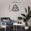 Triquetra - Metal Wall Decor