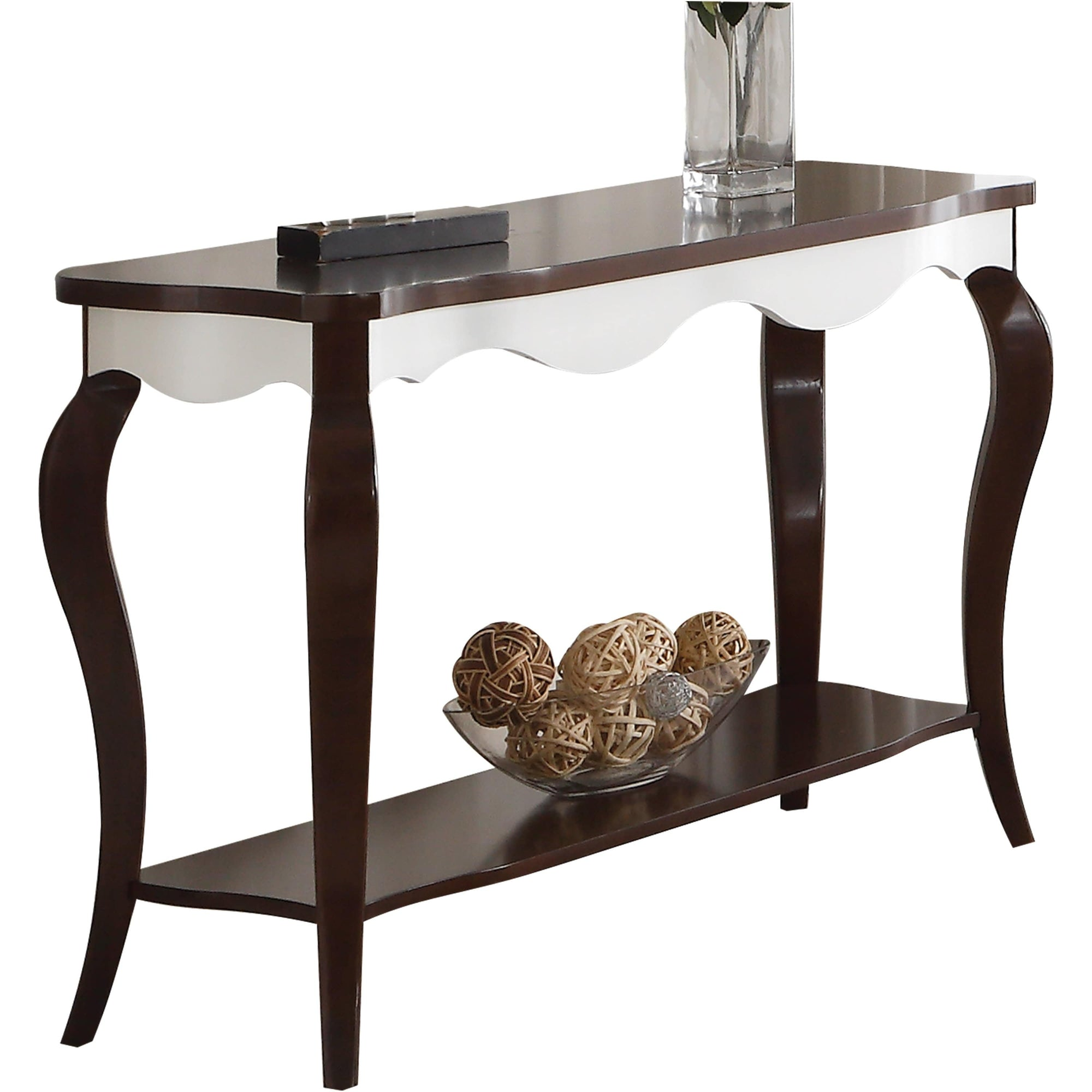 Walnut Wood Accent Table