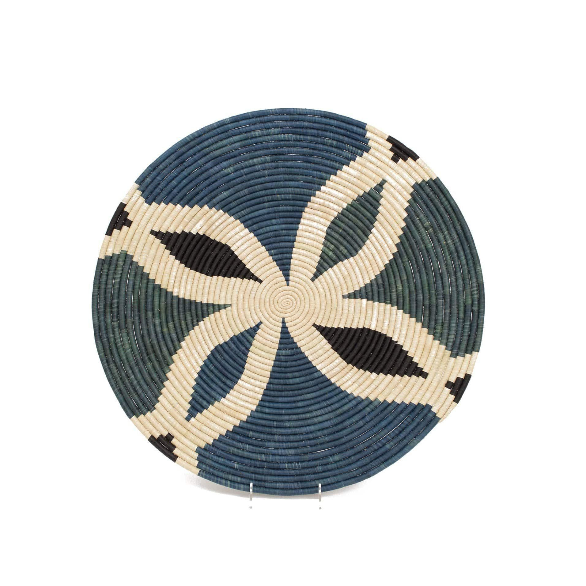 Woven Wall Art Plate Cool Benoite | woven wall baskets | rattan wall decor | decorative plate | boho wall decor | plate decor | wall decor | wall art | home decor