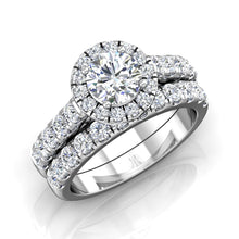 Load image into Gallery viewer, LE341 Round Engagement Ring 3/8  Carat TDW