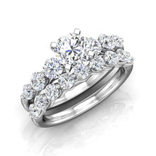 Load image into Gallery viewer, LE344 Round Engagement Ring 7/8  Carat TDW