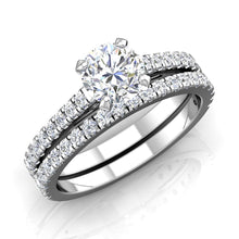 Load image into Gallery viewer, LE345 Round Engagement Ring 1/3  Carat TDW