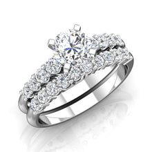 Load image into Gallery viewer, LE347 Round Engagement Ring 3/8  Carat TDW