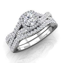 Load image into Gallery viewer, LE350 Round Engagement Ring 5/8  Carat TDW