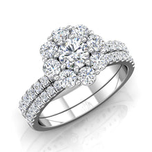 Load image into Gallery viewer, LE351 Round Engagement Ring 1 Carat+ TDW