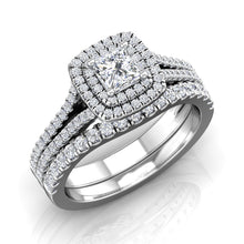 Load image into Gallery viewer, LE353 Round Engagement Ring 3/4  Carat TDW