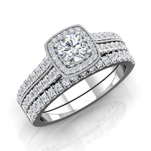 Load image into Gallery viewer, LE354 Round Engagement Ring 5/8  Carat TDW
