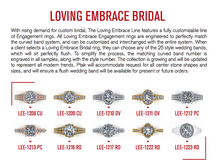Load image into Gallery viewer, 10 Piece Loving Embrace Bridal Display