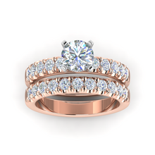 Load image into Gallery viewer, LW131-2.4 Petite Pavé .60 Carat Wedding Band
