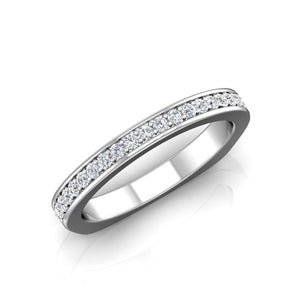LW339 Matching Wedding Band 1/3  Carat TDW