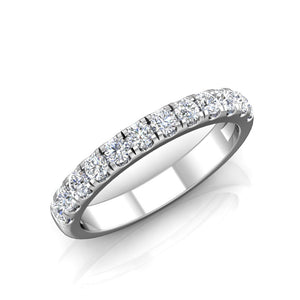 LE341 Round Engagement Ring 3/8  Carat TDW