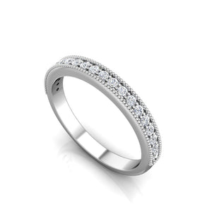 LW349 Matching Wedding Band 1/4  Carat TDW