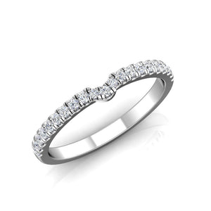 LW351 Matching Wedding Band 1/4  Carat TDW