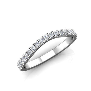 LW352 Matching Wedding Band 1/3  Carat TDW