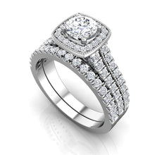 Load image into Gallery viewer, LW354 Matching Wedding Band 1/3  Carat TDW