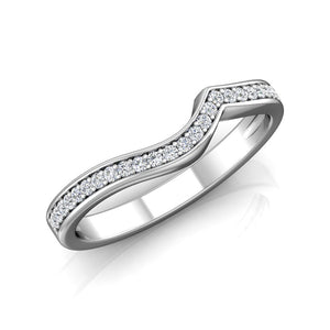 LW356 Matching Wedding Band 1/5  Carat TDW