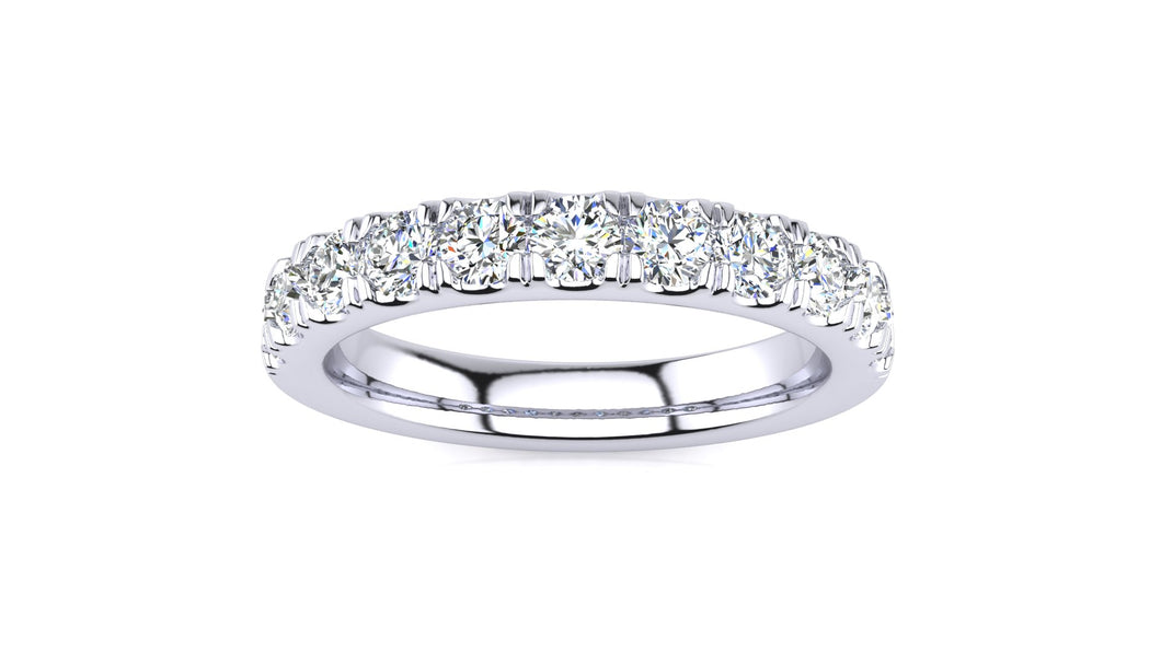 SWB-11-2.7 Pavé  3/4 Carat Diamond Band