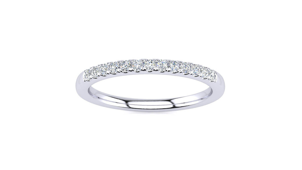 SWB-13-1.4 Pavé  .15 Carat Diamond Band