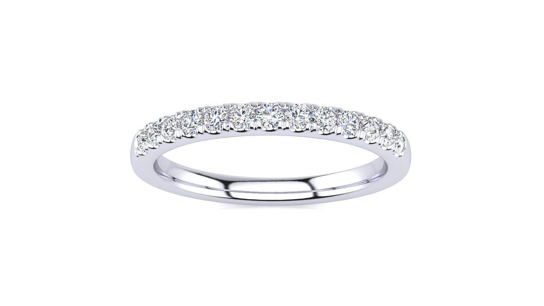 SWB-13-1.7 Pavé  1/4 Carat Diamond Band