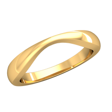 Load image into Gallery viewer, Adapter Contour Wedding Band