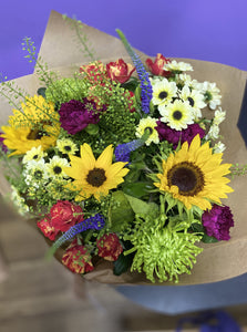 £30 Florist Choice Hand-Tied Bouquet