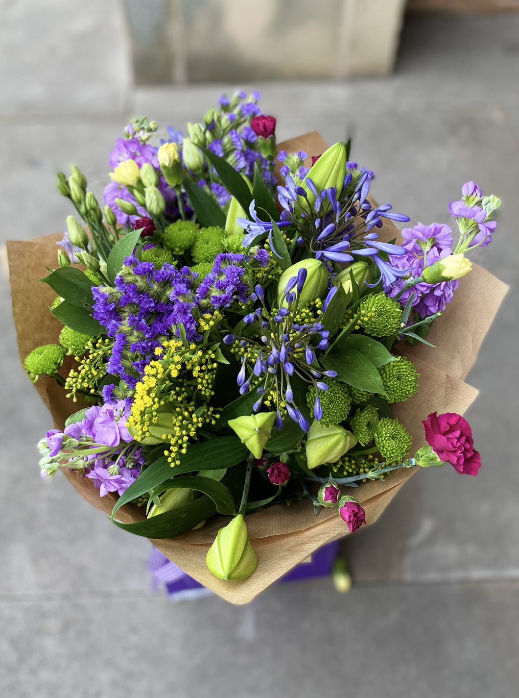 £55 Florist Choice Hand-Tied Bouquet