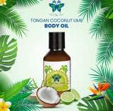 Tongan Coconut Oil - Lime Fragrance