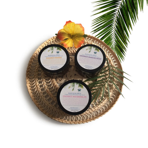 Tongan Fruity Sugar Scrub Set