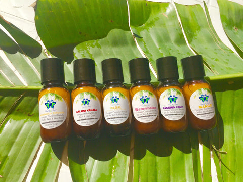 Small Tongan Beauty Oil Gift Set