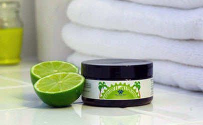 Tongan Coconut Lime Sugar Scrub