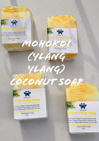 Mohokoi (Yellow Ylang Ylang) Coconut Soap