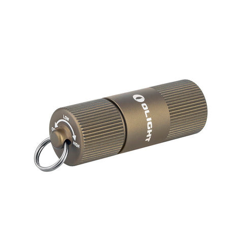 Olight i1R 2 EOS Desert Tan Keychain Flashlight