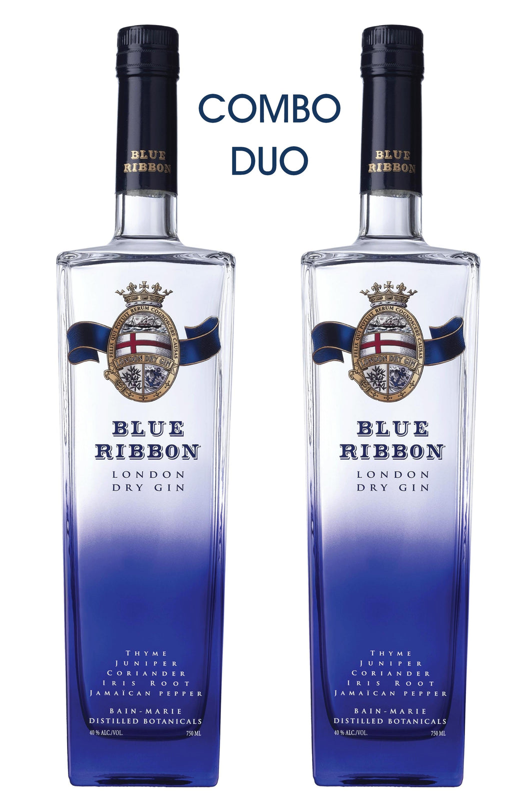 Blue Ribbon London Dry Gin COMBO DUO