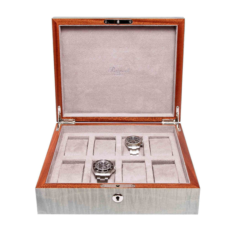 Rapport-Watch Box-Heritage Eight Watch Box-Grey