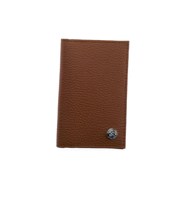 Rapport-Mens-Berkeley Two Tone Card Wallet-Tan Cream