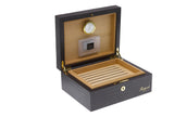 Rapport-Mens-Brompton Small Leather Humidor-
