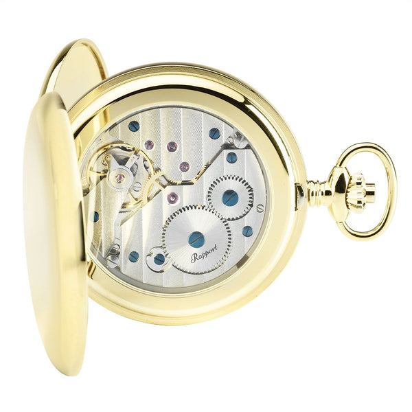 Rapport-Watch Accessories-Mechanical Double Hunter Pocket Watch-