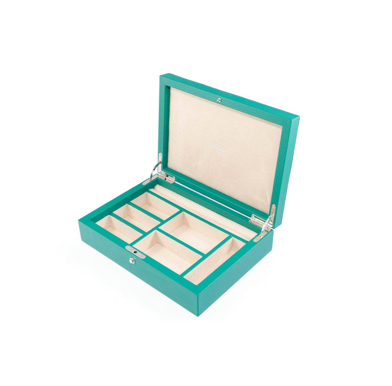 Rapport-Ladies-Diana Large Jewellery Box-Green