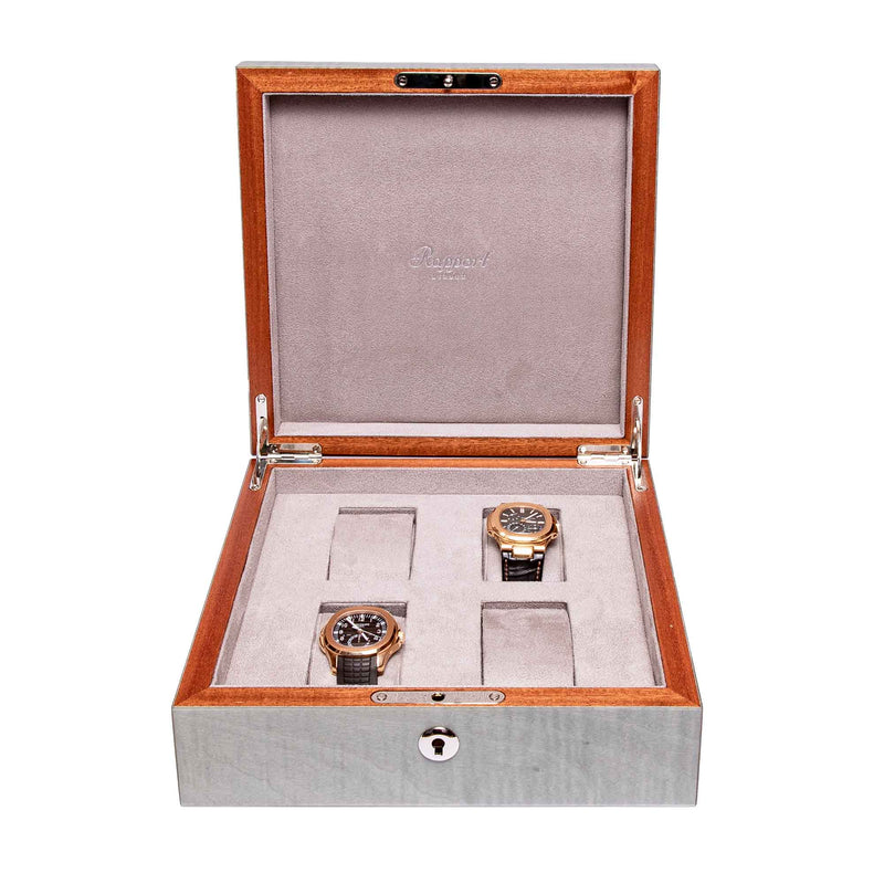 Rapport-Watch Box-Heritage Four Watch Box-Grey