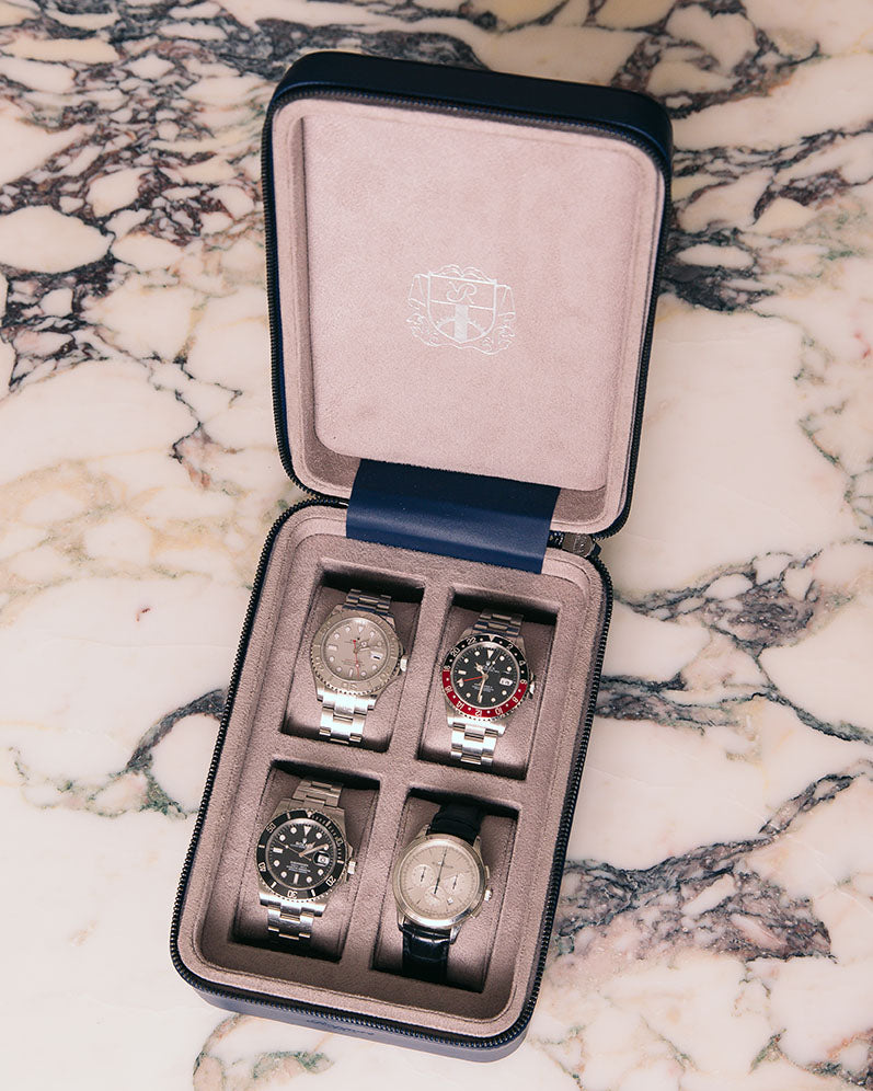 Hyde Park Four Watch Zip Case